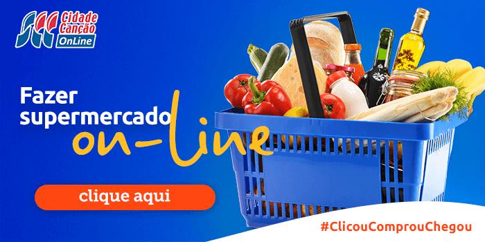 fazer supermercado online