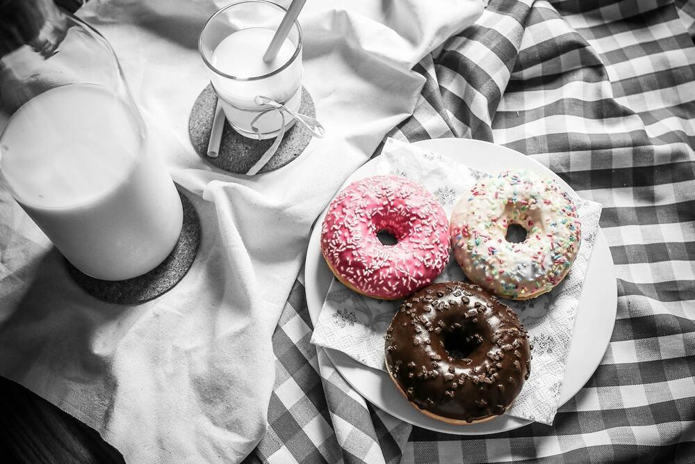café da manhã típico americano