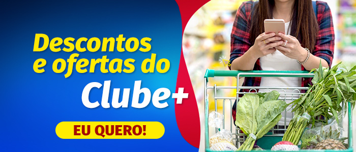 Banner para o site do Clube Mais.