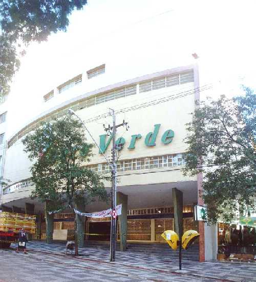 Cine Teatro Ouro Verde, um dos pontos turísticos de Londrina.