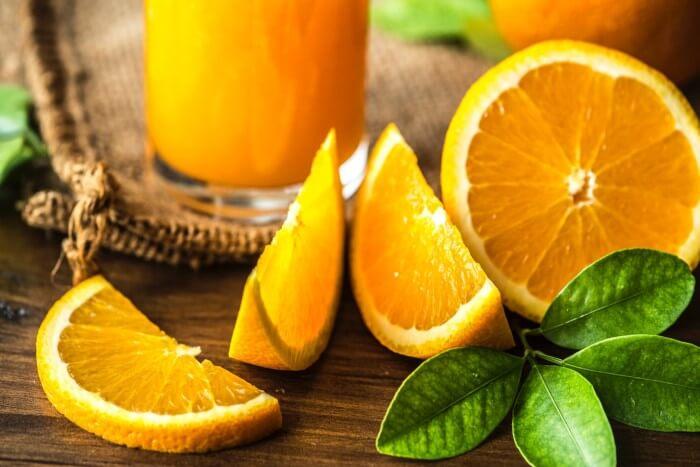alimentos e suas cores - amarelo e laranja