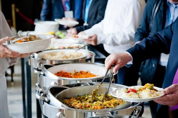 almoço corporativo - tipos de serviço