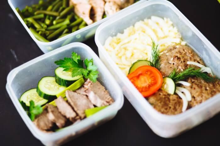 como congelar alimentos - comida pronta