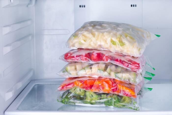 como congelar alimentos - separe em porções