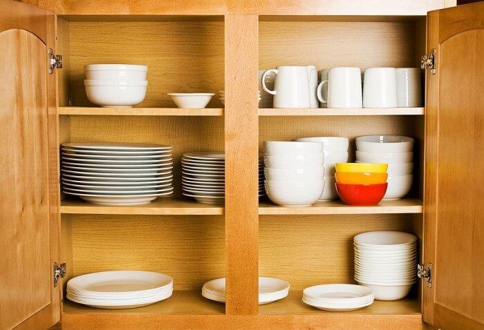 como organizar o armário da cozinha - categorize!