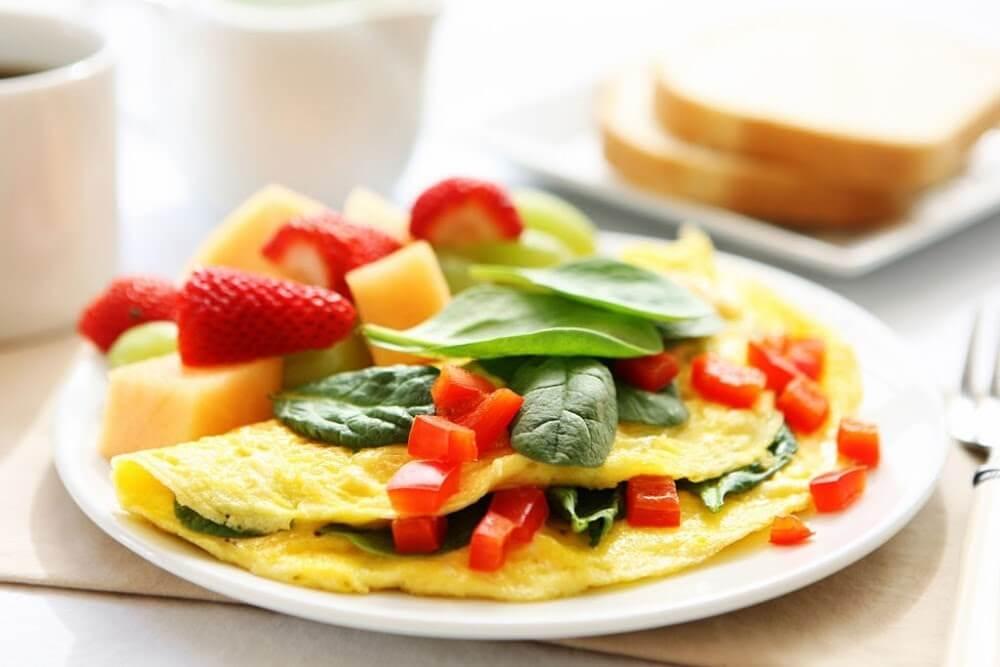 café da manhã leve - crepioca