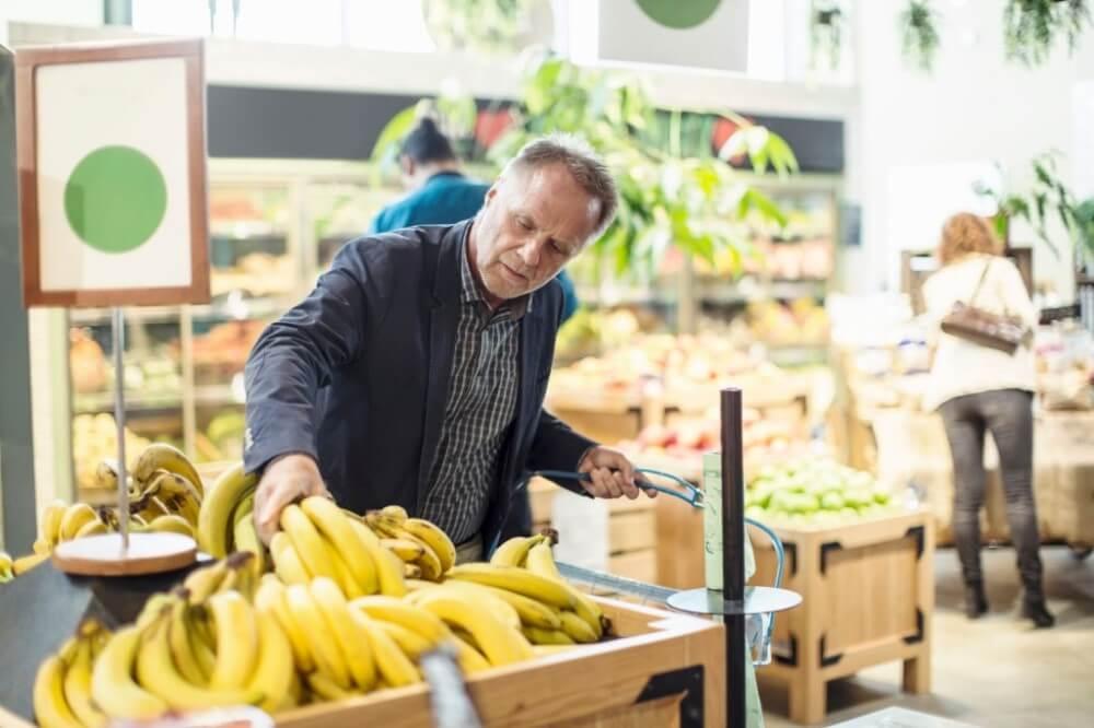 como escolher frutas e verduras - bananas