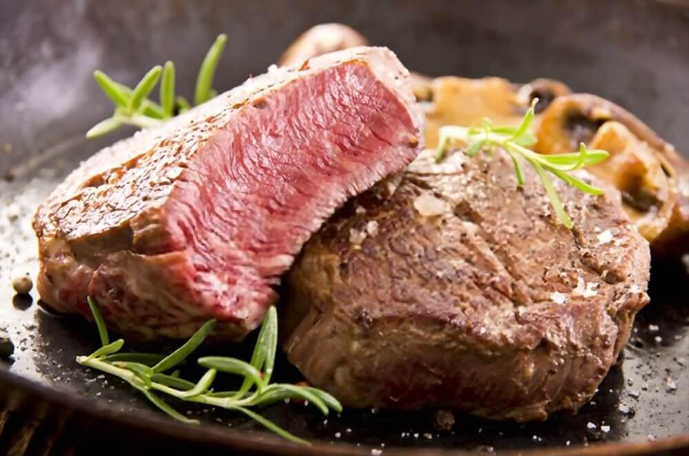 como saber o ponto da carne mal passada