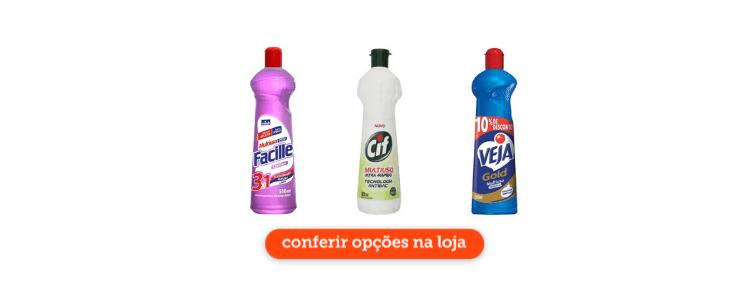 Clique para acessar os multiusos para limpeza de cozinha industrial na loja virtual do Cidade Canção.