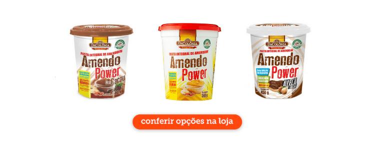 Clique para comprar pasta de amendoim na loja virtual do Cidade Canção.