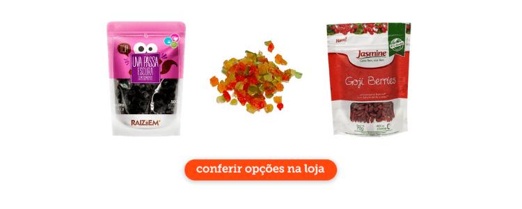 Clique para acessar a seção de frutas secas no Cidade Canção online.